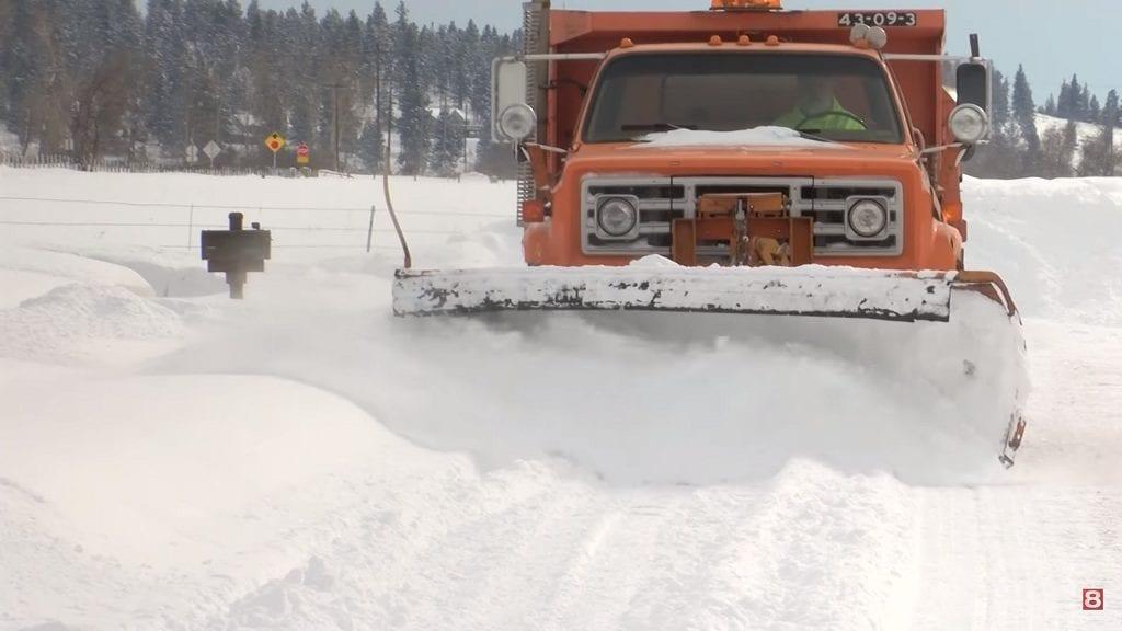 Stevensville pronounces basic travel just amid record snowfall