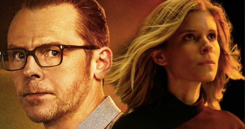 'Inheritance' recording in Birmingham this month with Kate Mara, Simon Pegg