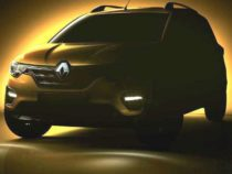Renault Triber teased for June 19th worldwide launch