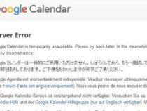 Google Calendar is Down across the Globe