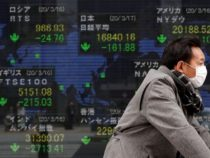 Asian shares turn around early obtain , euro drops to one-week lows