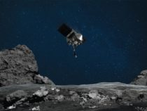 on space asteroid Bennu ,NASA's Osiris-Rex spacecraft lands