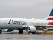 American Air 737 MAX announced emergency after engine closure and lands securely