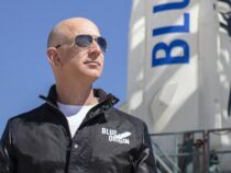 Jeff Bezos will fly on the 1st passenger flight of his space company Blue Origin in July